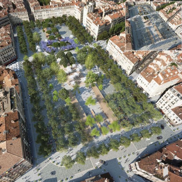 Réaménagement de la Place Jean Jaurès