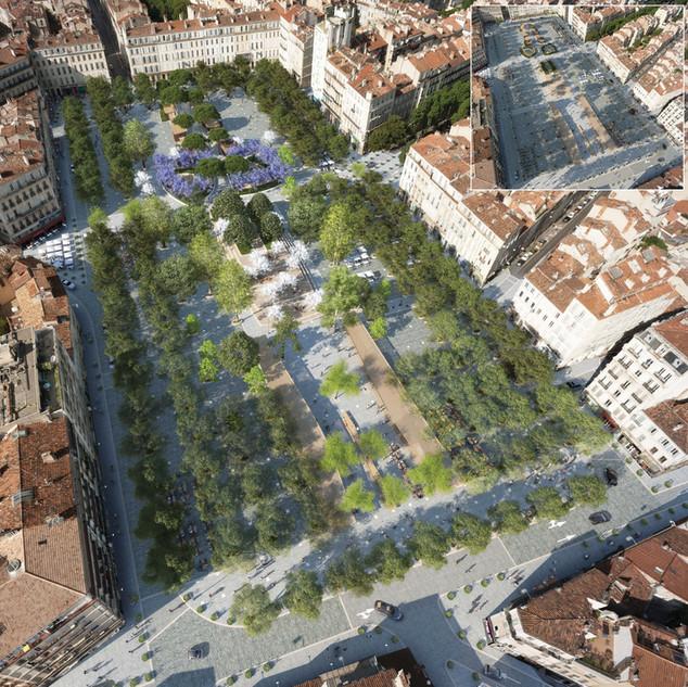 Réaménagement de la Place Jean Jaurés