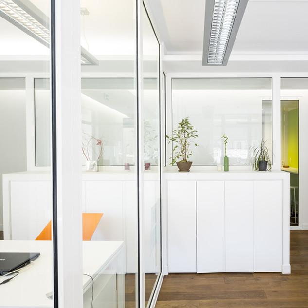 Restructuration des bureaux de l'Immobilière Pujol