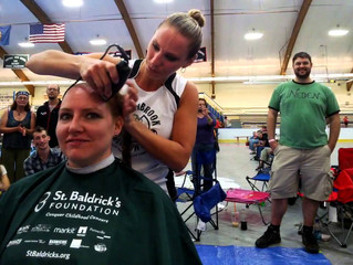 National Childhood Cancer Awareness Month- St. Baldrick's