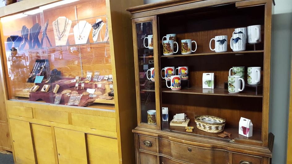 Mugs and tea supplies