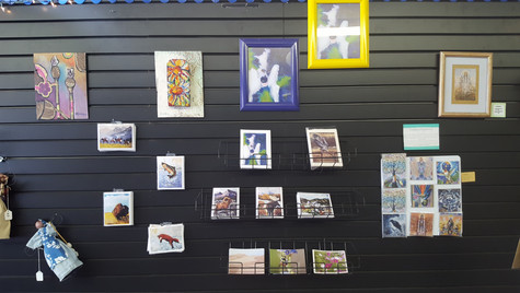 Greeting Cards and Local Artwork