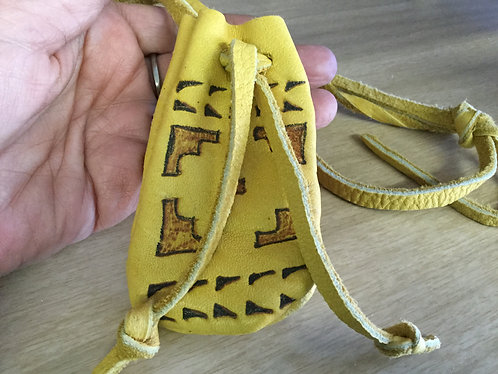 Handmade Pouch, Ready to Ship
