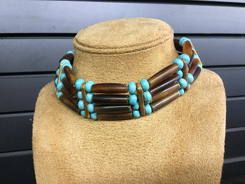 Handmade 4-Strand Choker, Ready to Ship