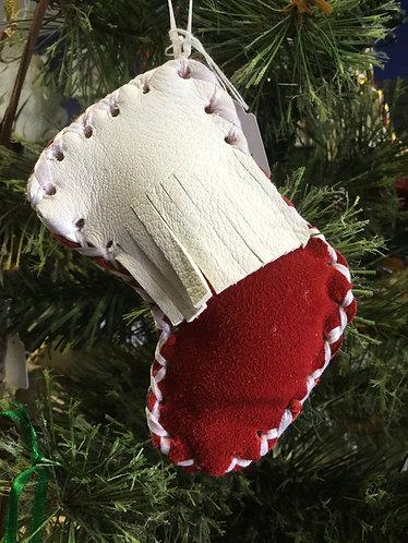 Holiday Ornament, Handmade Ready to Ship