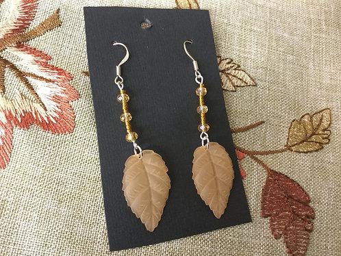 Handmade Leaf Earrings