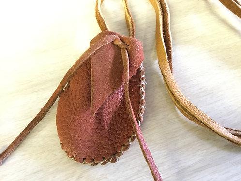 Small Handmade Pouch, Medicine Bag, Ready to Ship