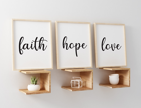 Faith, hope, love triple
