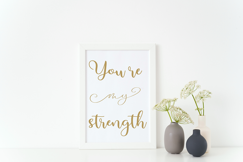 You're My Strength (foil)