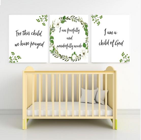 Nursery Canvas Triple