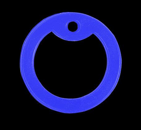 Силиконовый глушитель синий