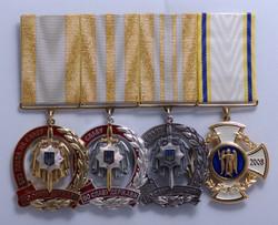 Наборная колодка с медалями