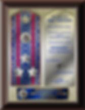 Сувенир, плакетка, присвоение звания