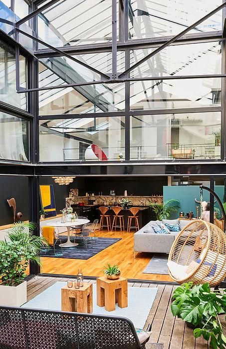 Selig&Renault_Loft Joe_Paris_vue patio_D