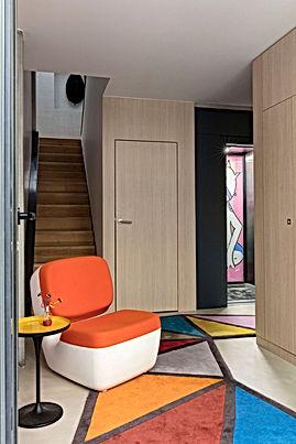 Selig&Renault_maison plissée_paris_vue e