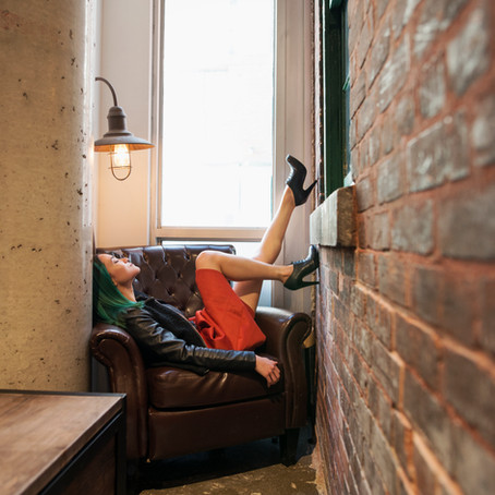 A cup of fashion at Arvo Coffee Co | Oakville | Hamilton | Toronto | Ontario | Portrait - Fashion
