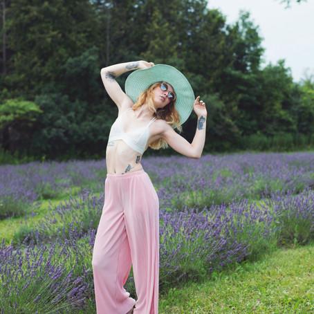 Terre Bleu Lavender Fields \ Oakville | Hamilton | Toronto | Ontario - Portrait