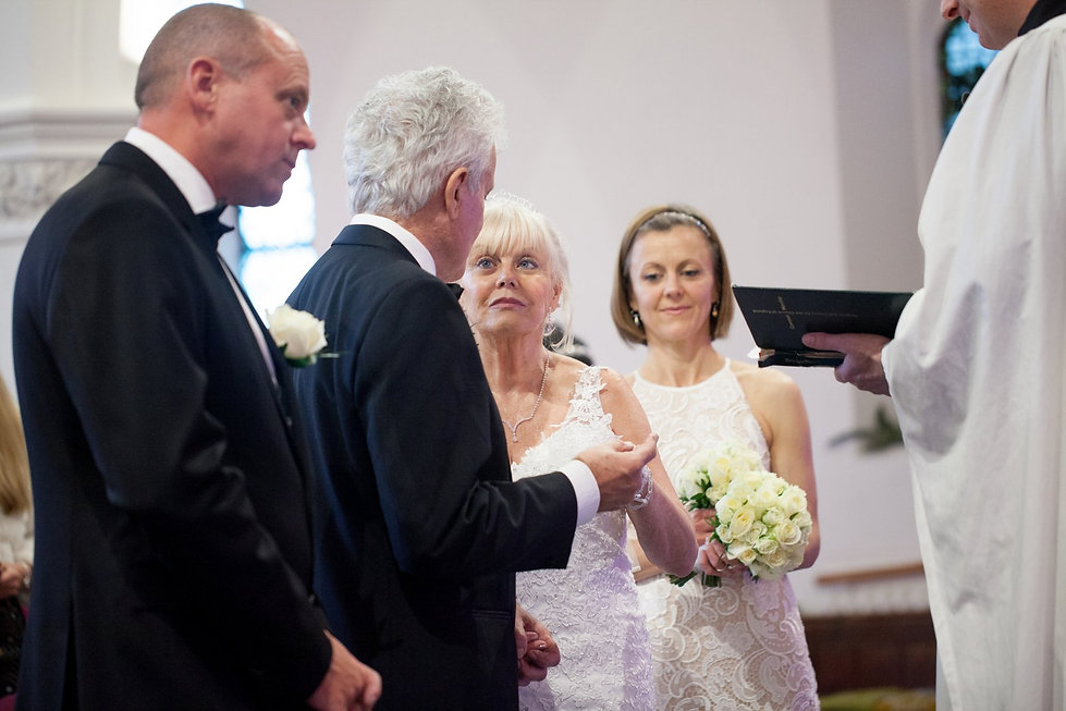 St Mary's Church Wedding, St Mary's Rd, Molesey by Grace Pham Photography 01