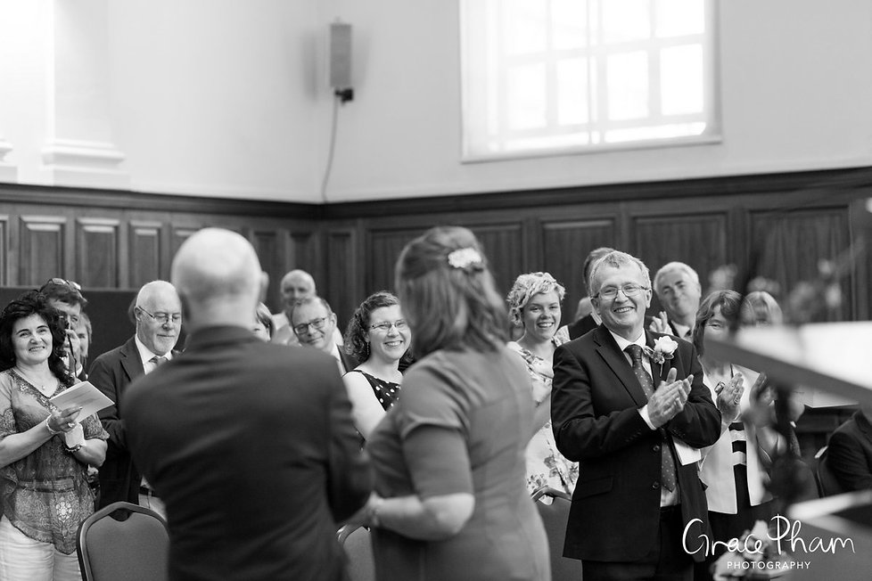 Methodist Central Hall, Westminster Wedding captured by London Photographer 06