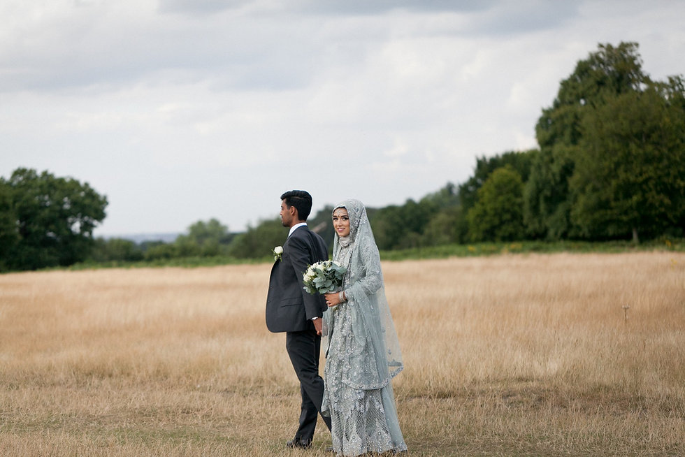 Richmond Park wedding with a lovely young couple in traditional indian wedding dress. The beading detail was amazing. Reception was at Pembroke Lodge in Richmond Park.