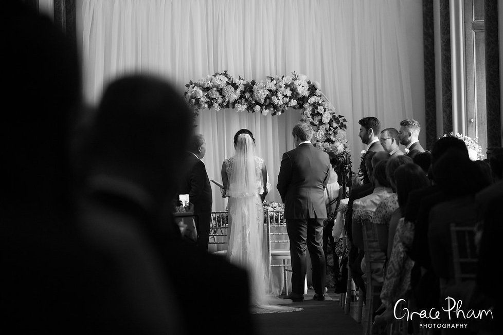 Wedding ceremony at Ditton Park Manor by UK Wedding Photographer 01