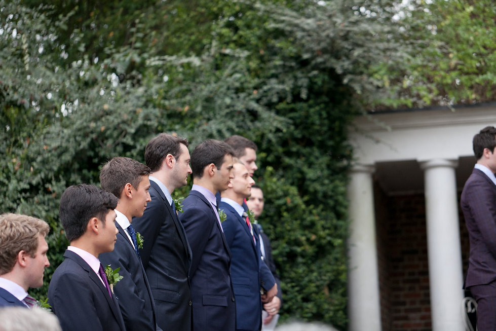 Groomsmen. London Wedding Photography at Cannizaro House