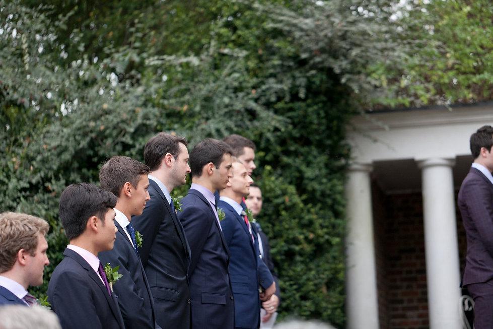 Groomsmen. London Wedding Photography at Cannizaro House