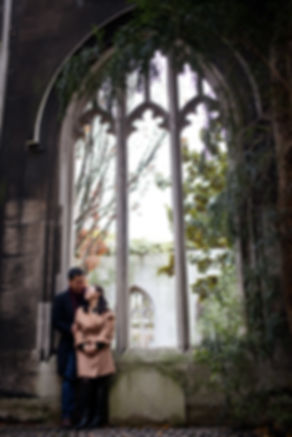 Engagement Photography Saint Dunstan in the East Church Garden 05