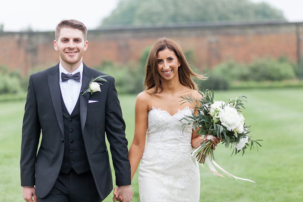 The Conservatory in the Luton Hoo Walled Garden Wedding by Grace Pham Photography 01