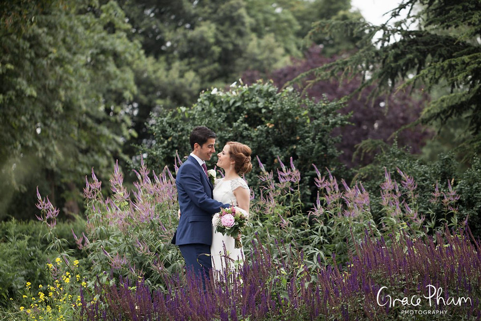 Clissold House & Park Wedding Photography 07