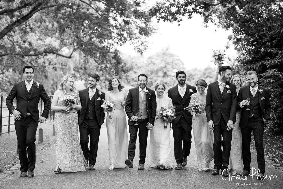 Pembroke Lodge, Richmond Park Wedding by London wedding photographer 02
