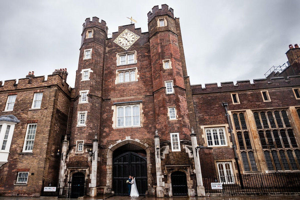 The Chapel Royal in St James's Palace Wedding captured by London Photographer Grace Pham 01