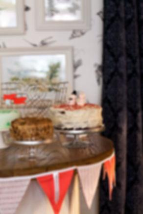 Wedding cakes captured by Grace Pham London Wedding Photographer