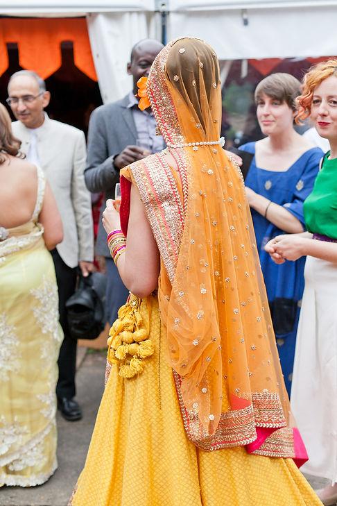 Hindu Wedding Photographer London. Hindu bride.