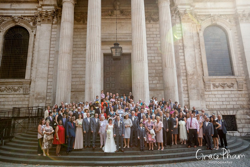 St Paul's Cathedral Wedding, London, Grace Pham Photography 12