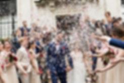 Islington Town Hall Wedding confetti captured by London Wedding Photographer May 2018 01