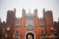 Hampton Court Palace Wedding Venue in Winter by Surrey Wedding Photographer 01