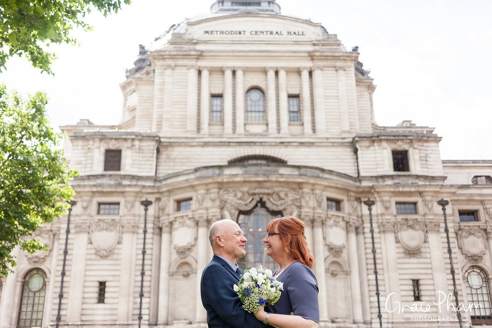 Methodist Central Hall, Westminster Wedding captured by London Photographer 08