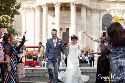 St Paul's Cathedral Wedding, London, Grace Pham Photography 09