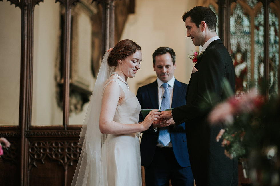 St Mary's Church Wedding, Wootton captured by Grace Pham Photography 07