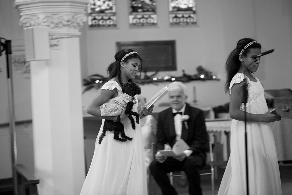 St Mary's Church Wedding, St Mary's Rd, Molesey by Grace Pham Photography 02