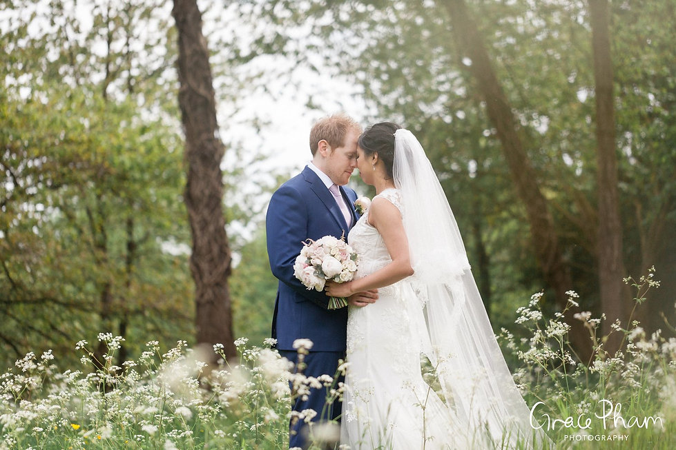 Ditton Park Manor Wedding captured by Grace Pham Wedding Photographer 01