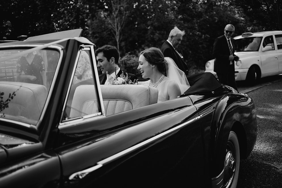 St Mary's Church Wedding, Wootton captured by Grace Pham Photography 16