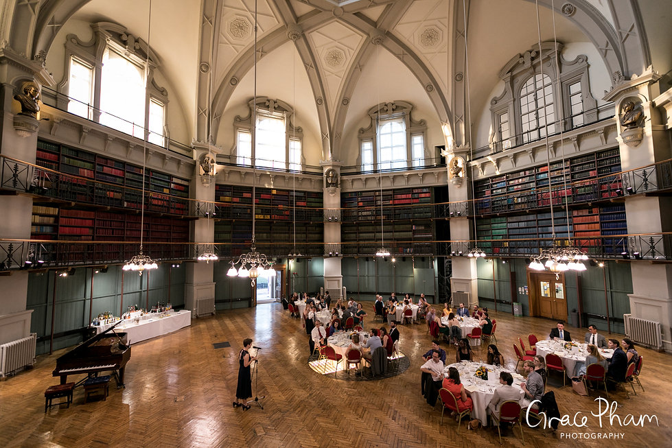 Queen Mary University of London (QMUL) Wedding, The Octagon, Mile End, captured by Grace Pham Photography 4