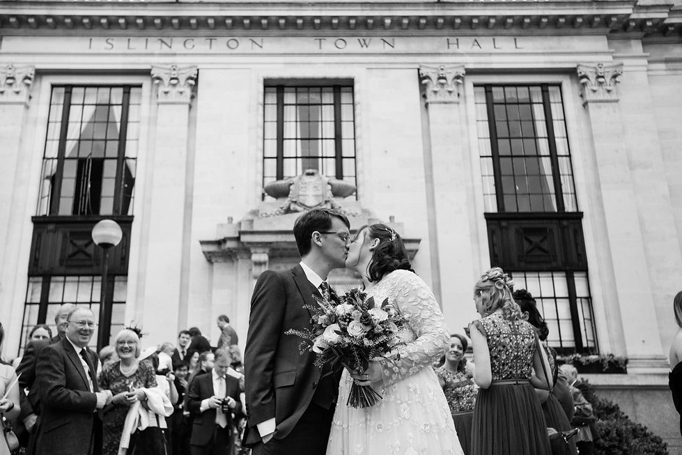 Islington Town Hall wedding photographer, London, Grace Pham 2018 10