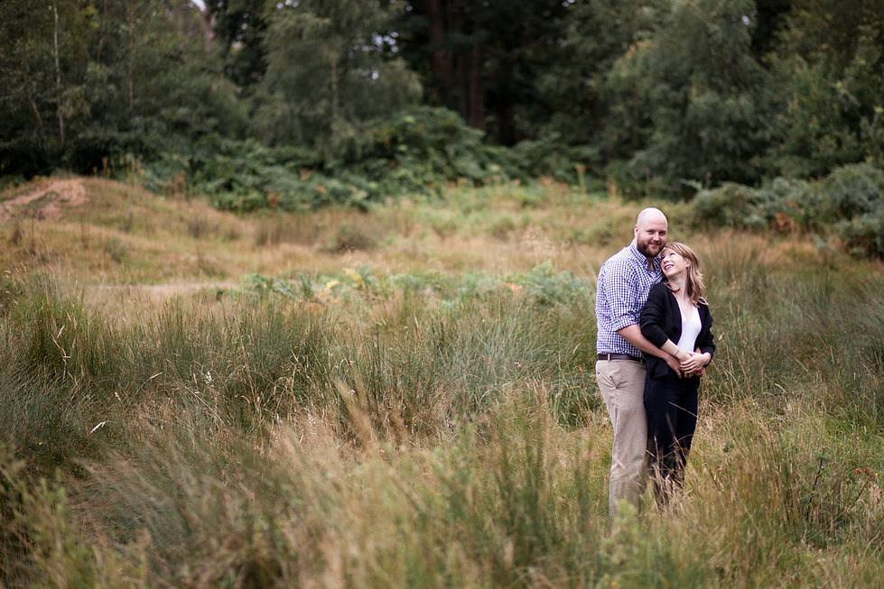 Richmond Park Engagement Shoot by Grace Pham Photography 1