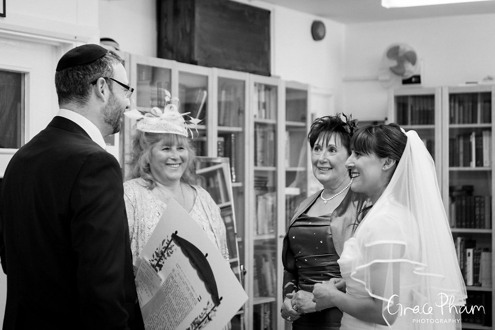 Jewish Wedding Photographer London 05