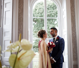 Merton Register Office Wedding, Manish & Louise captured by Grace Pham Photography