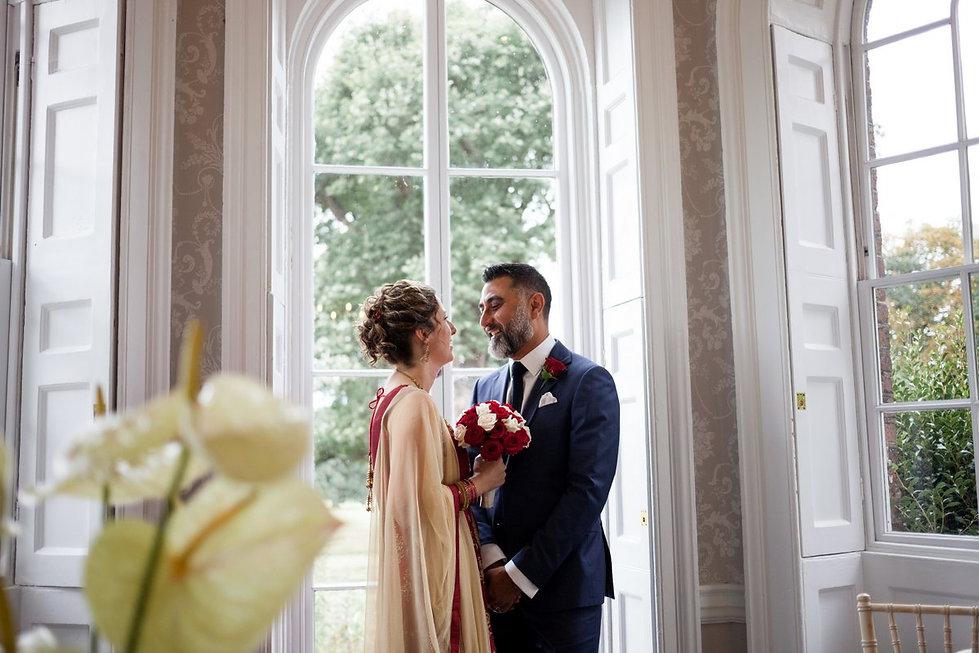 Morden Park House, Sheridan Room, Merton Reigster Office Wedding, by Grace Pham Photography Aug 2018 05