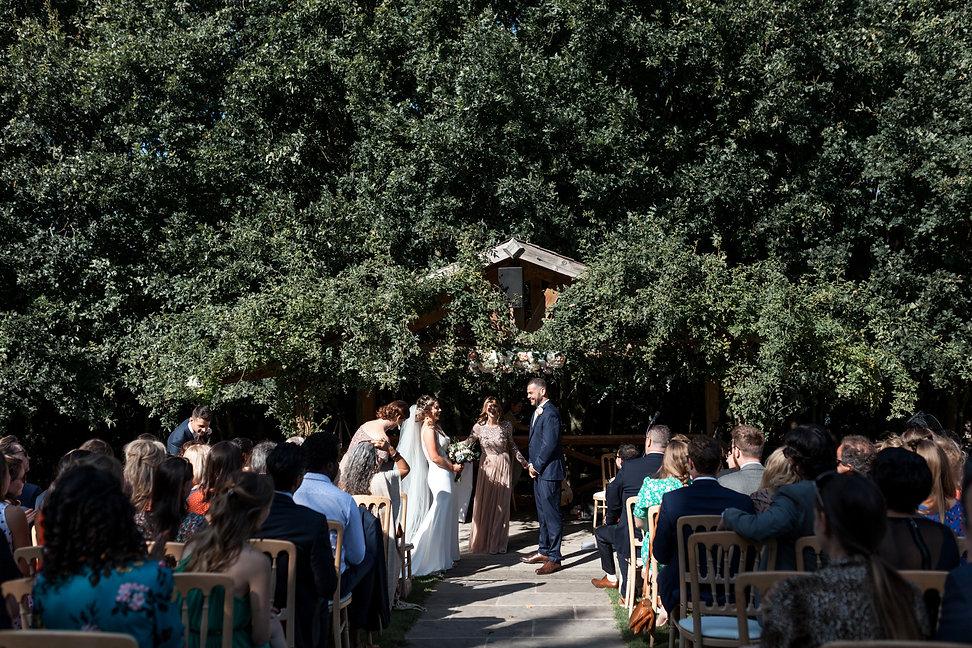 Sam & Charley Bury Court Farm Wedding, Farnham, captured by Grace Pham Photography 08